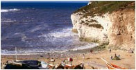 North Landing at Flamborough